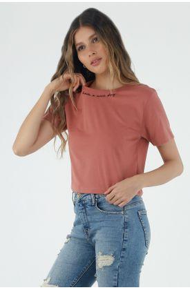 tshirt-para-mujer-topmark-naranja