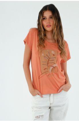 tshirt-para-mujer-tennis-naranja