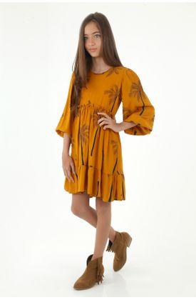 vestidos-para-niña-tennis-amarillo