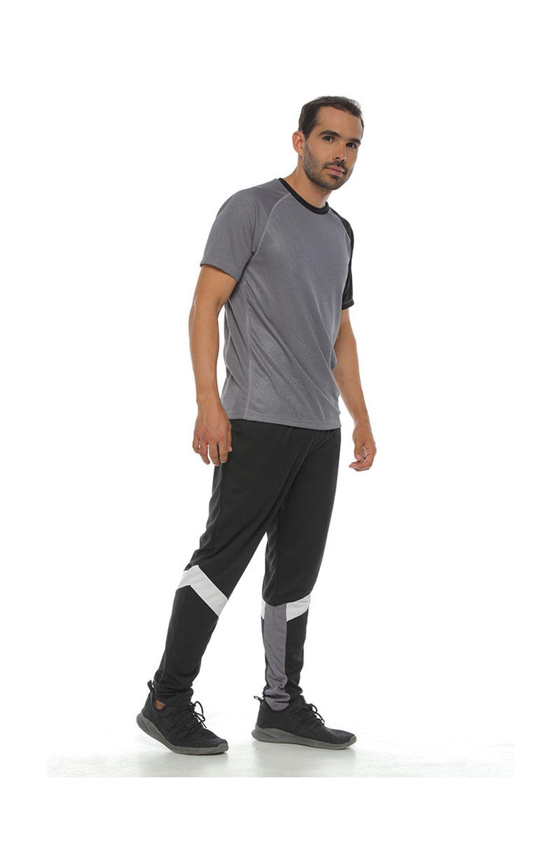 Pantalon Sudadera Deportiva Color Negro Para Hombre Racketball Tennis