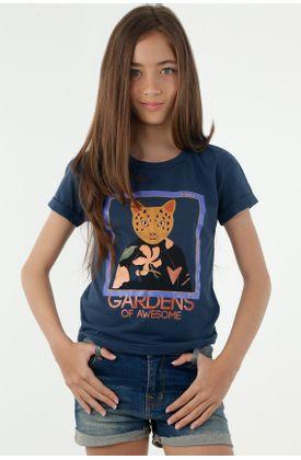 tshirt-para-niña-tennis-azul