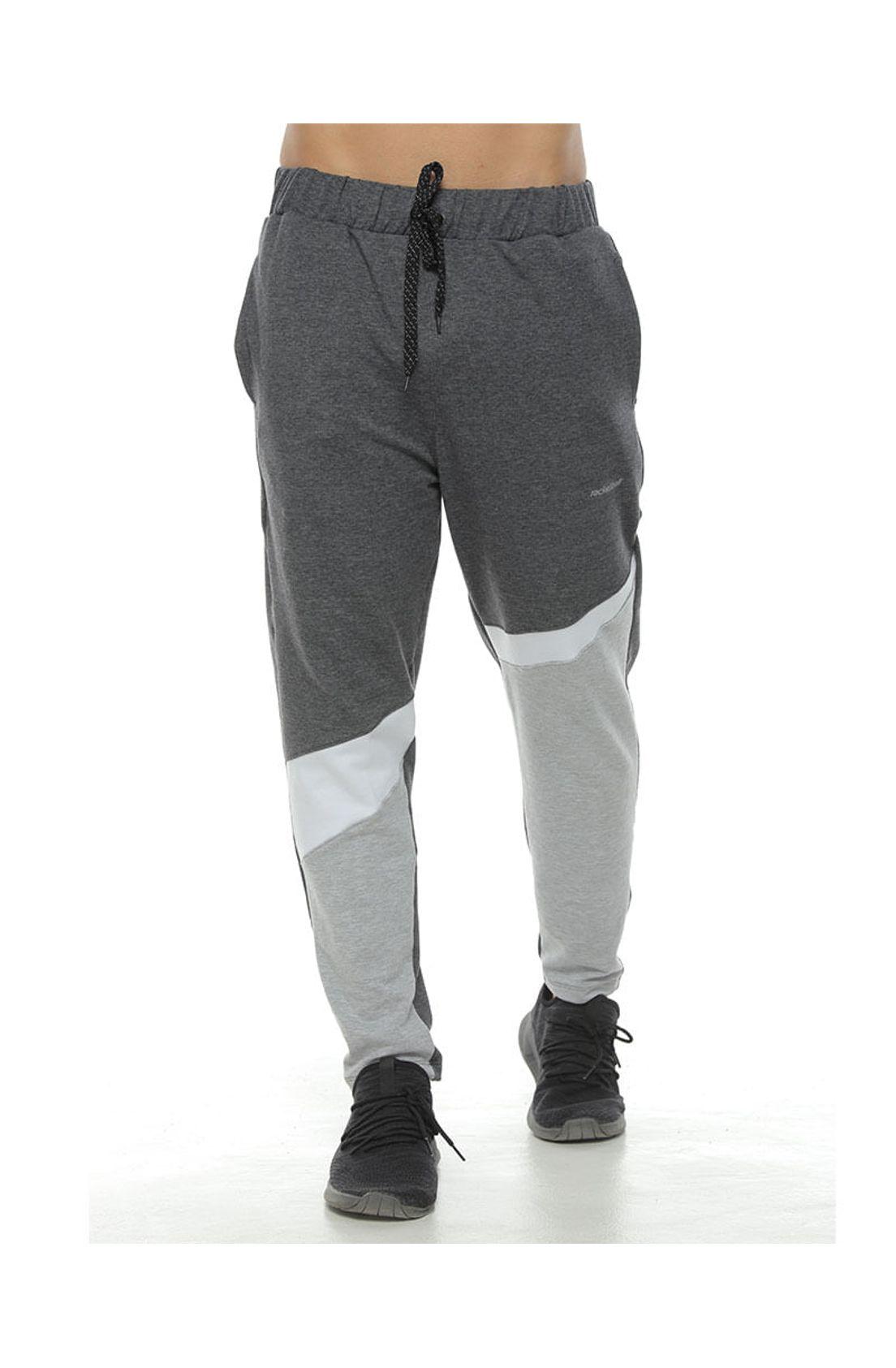 Pantalon Jogger Color Negro Cross Para Hombre Racketball Tennis