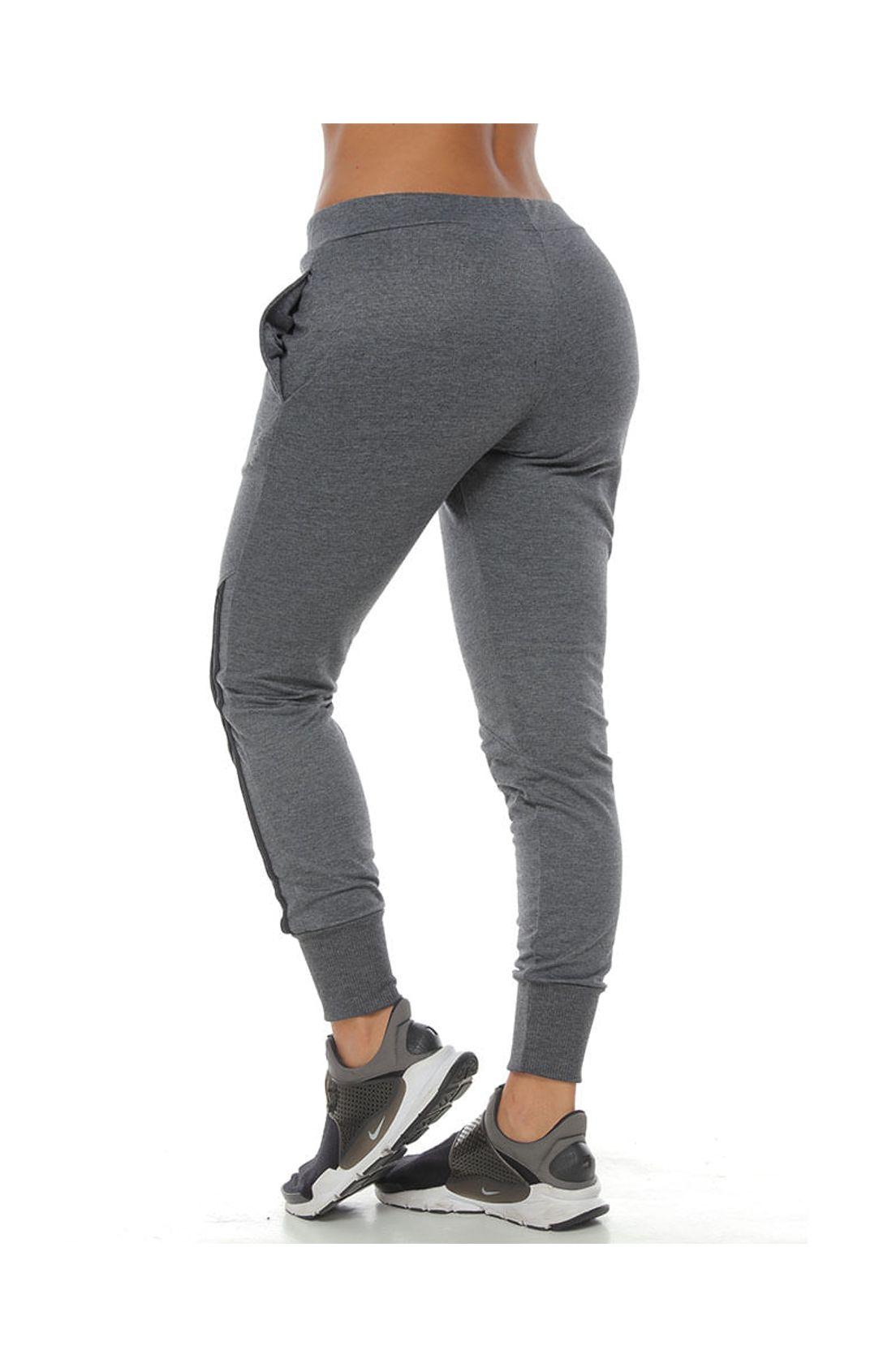 Pantalon Jogger Color Negro Para Mujer Racketball Tennis