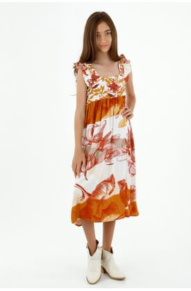 vestidos-para-niña-tennis-naranja