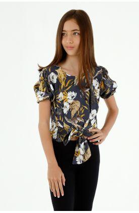 camisas-para-niña-tennis-azul