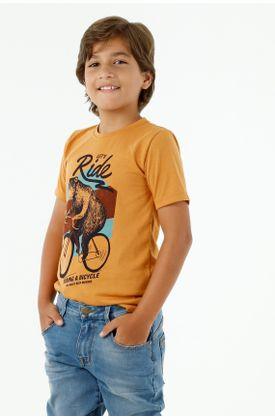 tshirt-para-niño-tennis-naranja