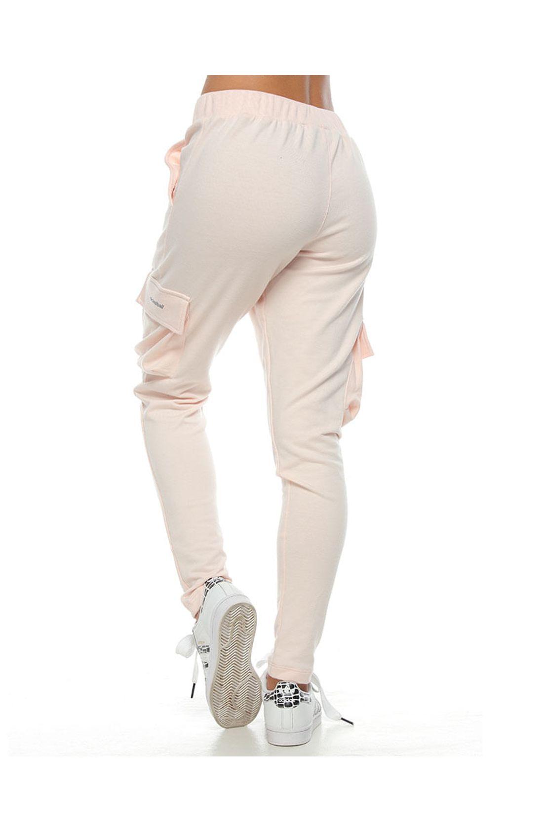 Pantalon Jogger Color Rosa Para Mujer Tennis