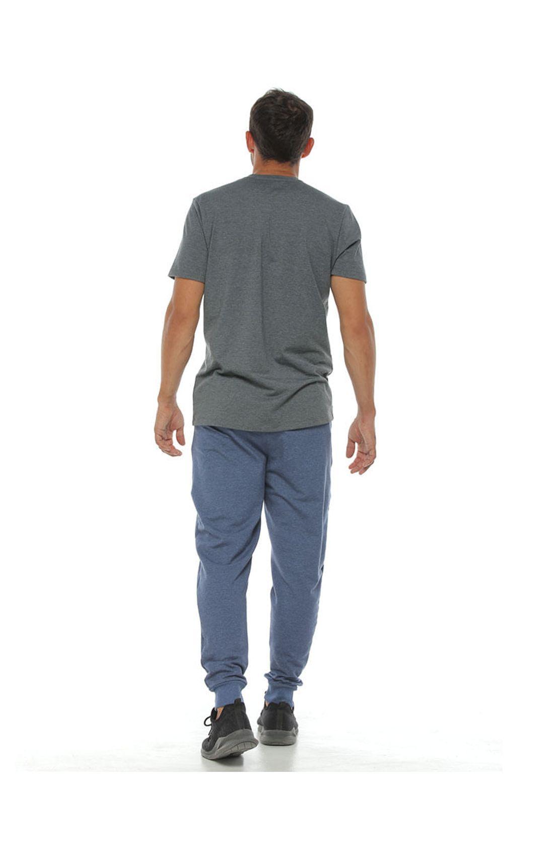 Pantalon Jogger Color Azul Para Hombre Tennis