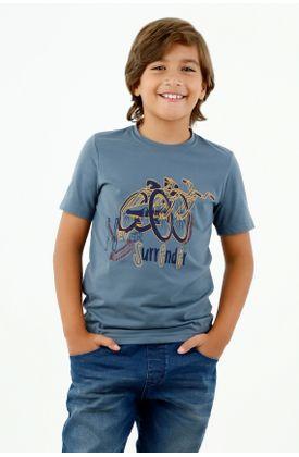 tshirt-para-niño-tennis-azul