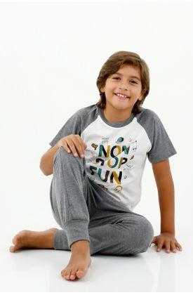 pijamas-para-niño-tennis-gris