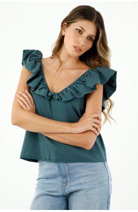 camisas-para-mujer-tennis-verde