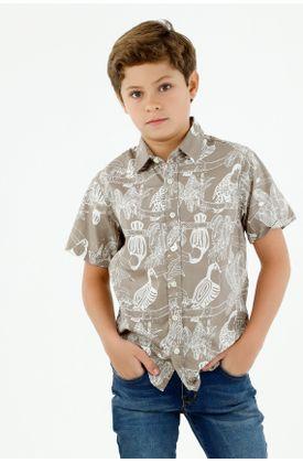 camisas-para-niño-tennis-verde