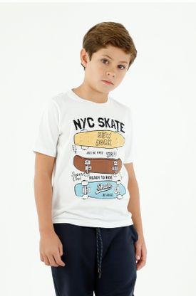 tshirt-para-niño-tennis-blanco
