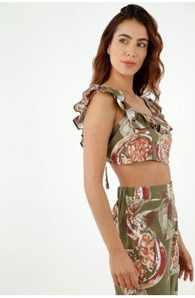 camisas-para-mujer-topmark-verde