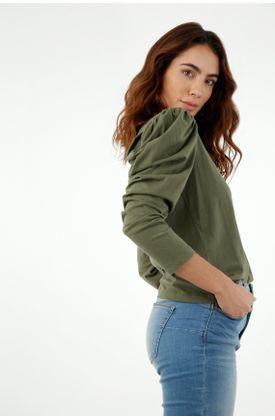 tshirt-para-mujer-topmark-verde