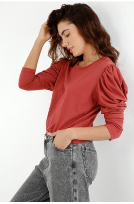 tshirt-para-mujer-topmark-rojo