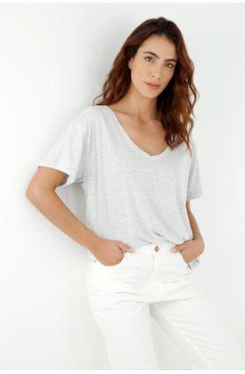 tshirt-para-mujer-topmark-gris
