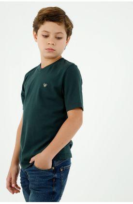 tshirt-para-niño-tennis-verde