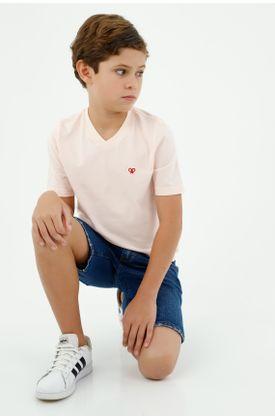 tshirt-para-niño-tennis-rosado