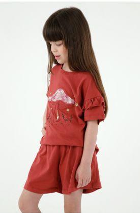 pijamas-para-niña-tennis-rojo