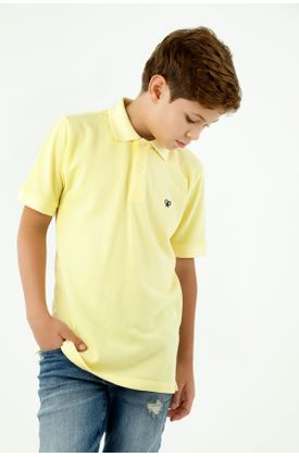 polos-para-niño-tennis-amarillo