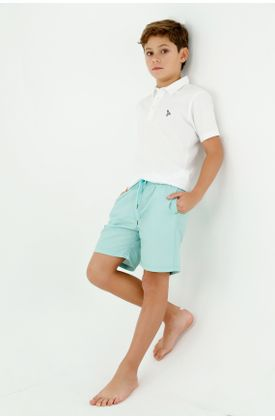 ropa-de-baño-para-niño-tennis-verde