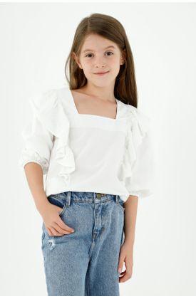 camisas-para-niña-tennis-blanco