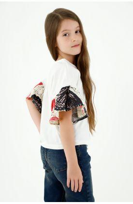 tshirt-para-niña-tennis-crudo