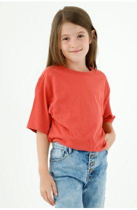 tshirt-para-niña-tennis-rojo