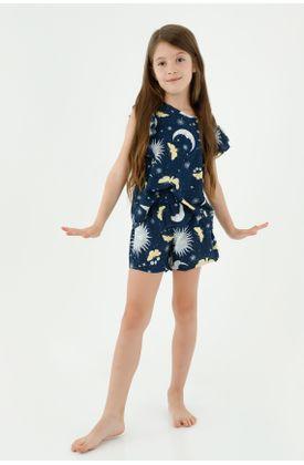 pijamas-para-niña-tennis-azul