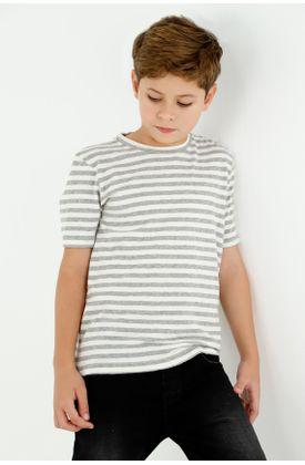 tshirt-para-niño-tennis-gris