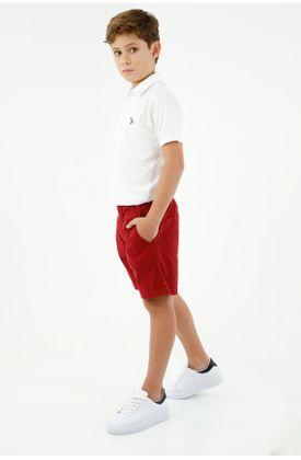 bermuda-para-niño-tennis-rojo