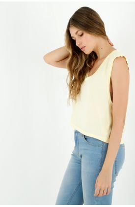 tshirt-para-mujer-topmark-amarillo