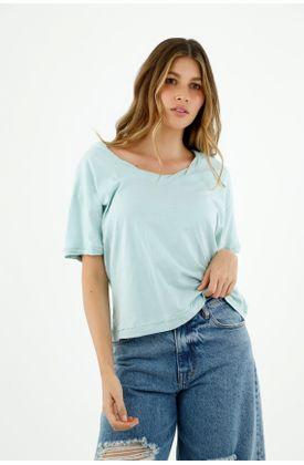tshirt-para-mujer-topmark-azul