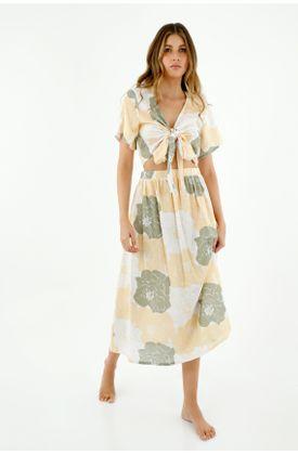faldas-para-mujer-topmark-amarillo