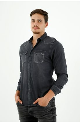 camisas-para-hombre-tennis-negro