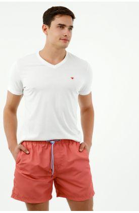 ropa-de-baño-para-hombre-tennis-rojo