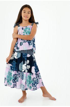 faldas-para-niña-tennis-azul
