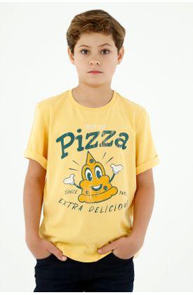 tshirt-para-niño-tennis-amarillo
