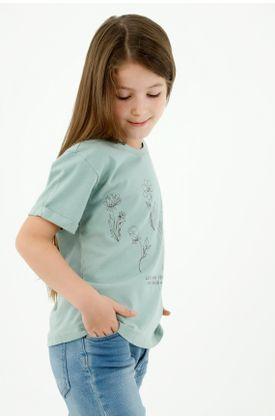 tshirt-para-niña-tennis-verde