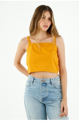 camisas-para-mujer-topmark-amarillo