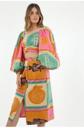 faldas-para-mujer-tennis-naranja