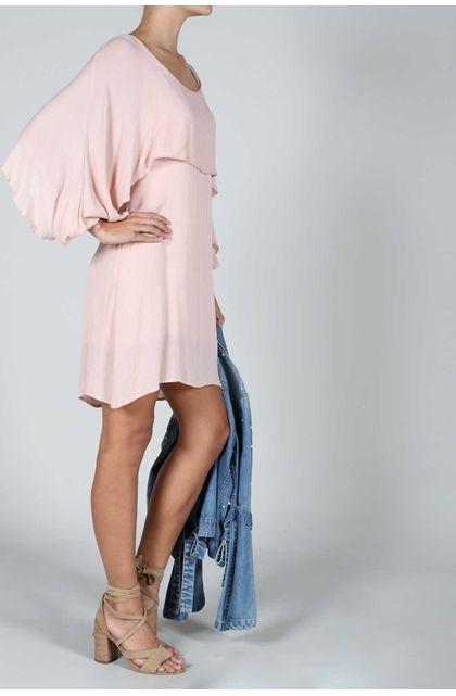 Vestidos cortos palo de rosa