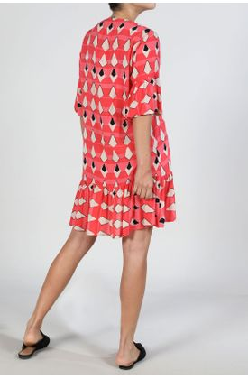 vestido-corto-rosado