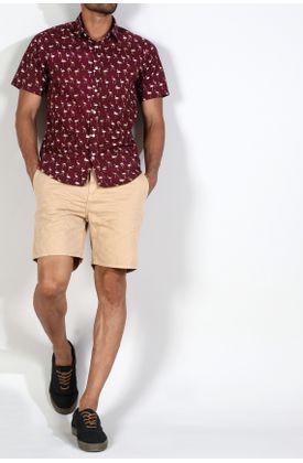Camisa-Manga-Corta-Rojo