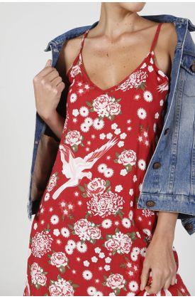 vestido-medio-estampado-flores-y-pajaros-rojo-para-mujer-VES-MED-0000050