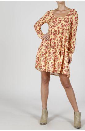 vestido-corto-estampado-fondo-amarillo-flores-fucsia-amarillo-para-mujer-VES-COR-0000062