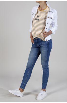 Tshirt-estampado-rayas-mostaza-y-blancas-