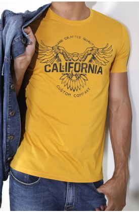 Tshirt-estampado-aguila-california