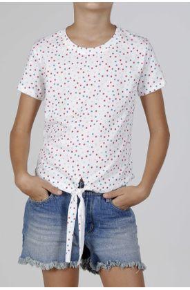 tshirt-estampado-puntos-pequeños